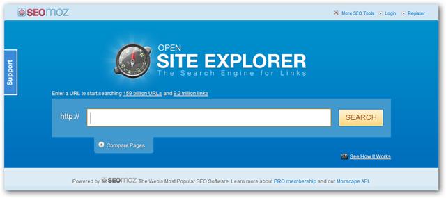 Buka situs-explorer