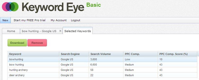 keyword-eye-basic-example