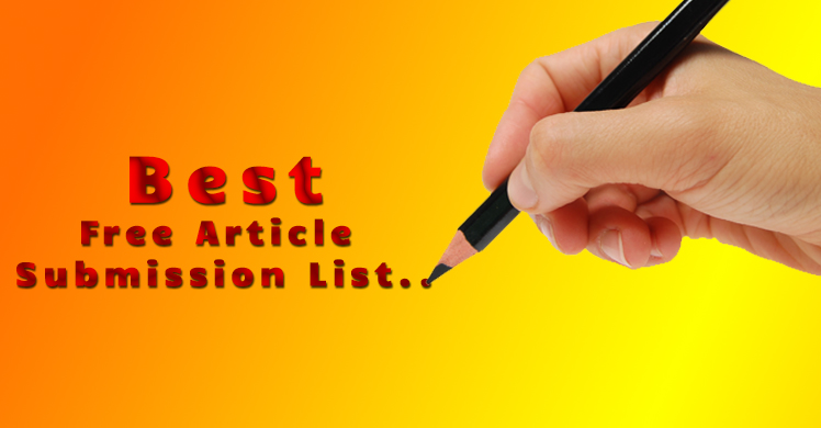 Best-Article-Submission-List